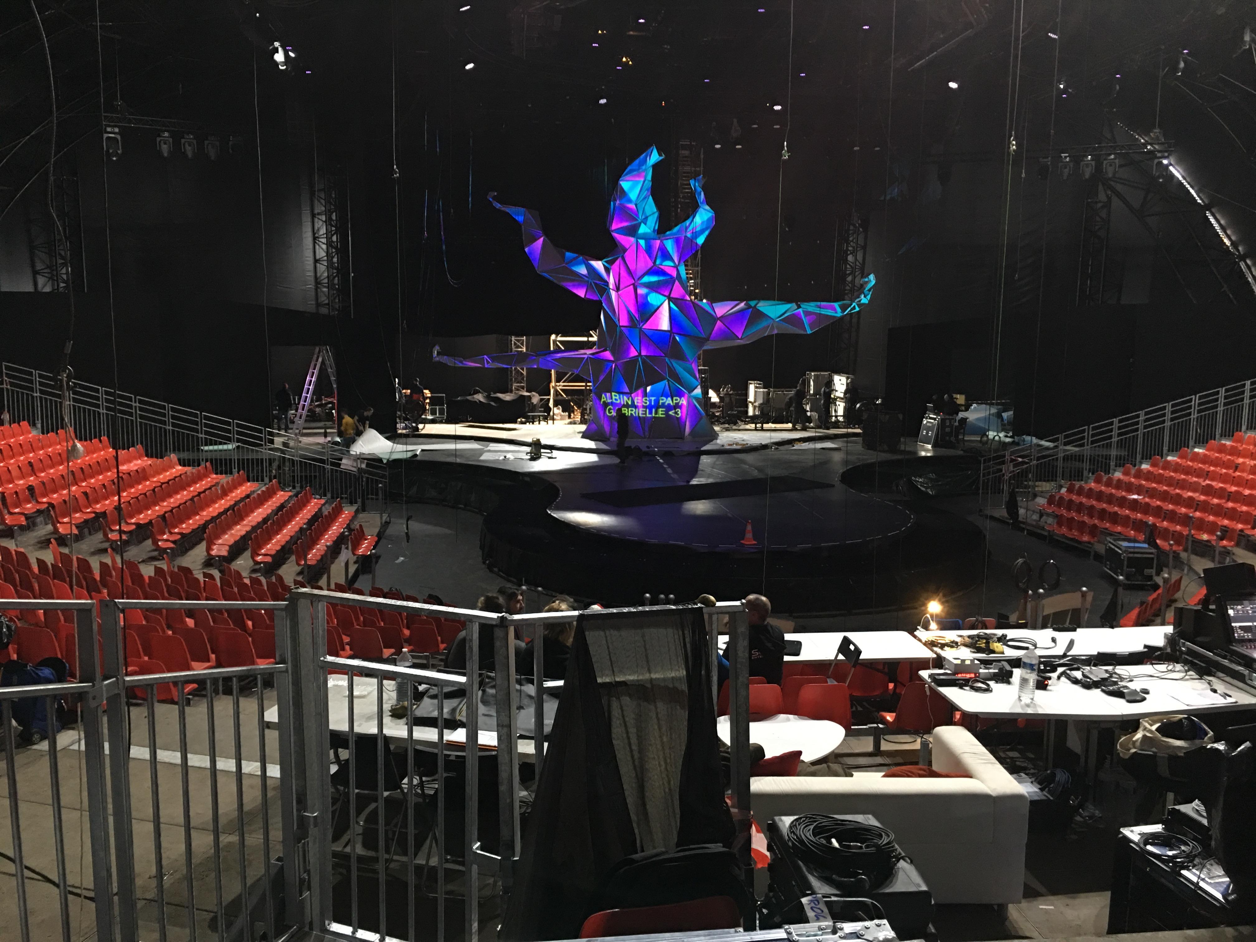Cirque de Paname – Le monde de Jaleya.